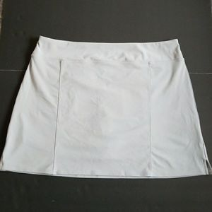 Adidas golf skort light grey sz XL w/CLIMACOOL